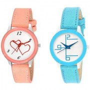 New Fashion Lifestyle Queen Analog Watch Sett Of Two For Girls and Women 063 Watch