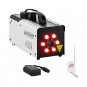 Výrobník mlhy - 900 W - 141,6 m3 - LED 6 x 3 W - DMX konektor