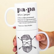 Nutcrackers Gepersonaliseerde Mok Definitie Papa - Nutcrackers