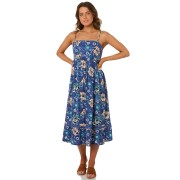 Rip Curl Island Love Midi Dress Blue