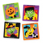 Halloween Sliding Puzzles (Pack of 4)
