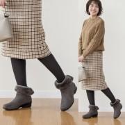 ALL DAY Walk 3E防水エコファー付ブーツ【QVC】40代・50代レディースファッション