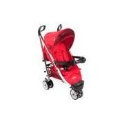 Carrinho de Bebê Umbrella Deluxe Vermelho Tabasco - Cosco