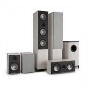 NUMAN Reference 851 5.1-Soundsystem, szürke tölgy, ezüst borítók mellékelve (60001640)