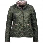 Barbour Evelyn Quilted Jacket Women's Grön