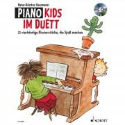 Schott Music Piano Kids im Duett Hans-Günter Heumann, Buch/CD