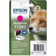 """Tinteiro Epson T1283 Magenta Original Série Raposa (C13T12834012)"""