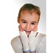 DermaSilk Rękawiczki lecznicze na AZS, bez palców dla dzieci (1 para) DermaSilk