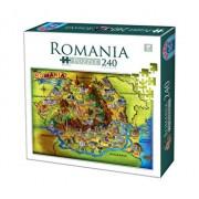 Puzzle Romania, 240 piese