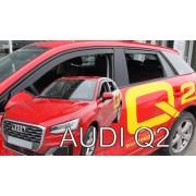 Deflektory komplet 4 ks - Audi Q2, 2016-