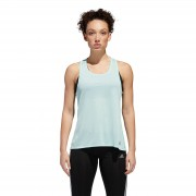 adidas Women's Response Running Tank Top - L - Green