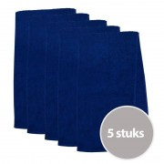 The One Towelling The One Sporthanddoek 450 gram Donker blauw (5 stuks)
