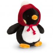 Pinguin de plus cu caciulita Scoodie Keel Toys, 15 cm, 3 ani+