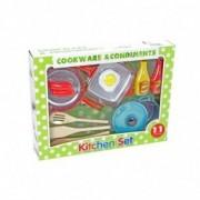 Kidz Corner Set da cucina - 11 accessori