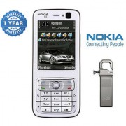 Nokia N73 / Good Condition/ Certified Pre Owned (1 Year Warranty) with 64GB Pendrive