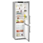 Combina frigorifica Liebherr CNef 4835, 361 L, No Frost, Display, Control electronic, Alarma usa, Raft sticle, SuperCool, H 201 cm, A+++, Inox, Finisaj antiamprenta