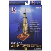 Daron Willis Tower 3D Puzzle 51-Piece