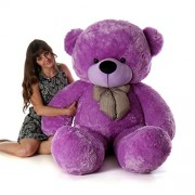 Skylofts Imported Giant Teddy Bear for Girls 6 Feet - 180cm Soft Toys Birthday Gifts ( Purple)