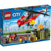 LEGO City: L'unité de secours des pompiers (60108)
