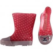 Merkloos Rubberen laarzen met poezen print voor peuters