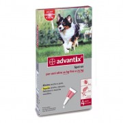 BAYER Advantix Spot On 4 Pipette 2,5 Ml Cani 10-25 Kg