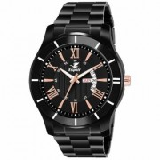 Espoir Analogue Stainless Steel Black Dial Day and Date Men's Boy's Watch - Archer0507