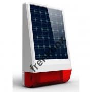 Sirena a pannello solare per antifurto centrali 433Mhz SC-SUN wireless/via cavo
