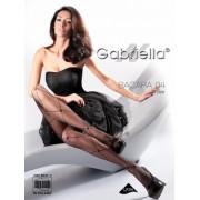 Gabriella - Diamond pattern tights Bacara 04, 20 den