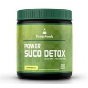 Power Suco Detox - 250 gramas - PowerFoods - Unissex