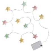 A Little Lovely Company - Lampice u nizu – Pastel zvezdice