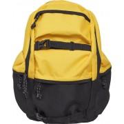 Urban Classics Colourblocking Rucksack gelb schwarz