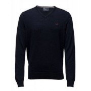 FRED PERRY Classic V Neck Sweater (S)
