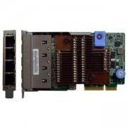 Мрежов (LOM) адаптер за сървъри Lenovo ThinkSystem, 4 x RJ45 10GBASE-T, 7ZT7A00549
