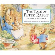 The Tale of Peter Rabbit Story Board Book, Hardcover