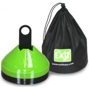 EXIT Markeringspionnen groen/zwart