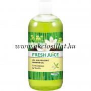 Fresh Juice krémtusfürdő citromfű és vanília kivonattal 500ml