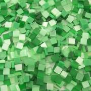 Folia Mozaika ton in ton zielona 5x5 mm - 700 sztuk - ZIEL