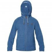 Poleron Niño Stripes Nano-F Jacket Lippi Azul Grisaceo
