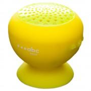 Boxa Portabila Waterproof Cu Microfon Galben ABC TECH