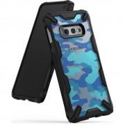 Husa Samsung Galaxy S10 Lite Ringke FUSION X Design Albastru Camuflaj