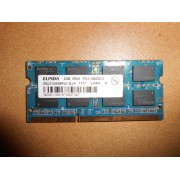 RAM Elpida 2GB 2Rx8 PC3-10600S-9-10-F1, DDR3-1333MHz - Mémoire PC portable