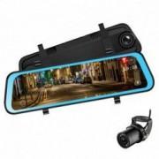 Camera Video Auto Premium Tip Oglinda Techstar R L606 Dubla FullHD TouchScreen 10 12MPx Unghi 170 Mod