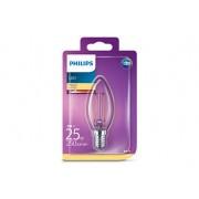 Philips Żarówka świeczka LEDClassic 25W B35 E14 WW
