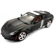 Maisto 2014 Corvette Stingray Police Diecast Vehicle (1:18 Scale)