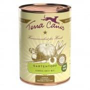 24x400g Terra Canis kerti tál, zöldség gyümölcs mix