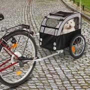 Remolque para bicicleta No Limit Doggy Liner 2: Ámsterdam - 109 x 59 x 73 cm (L x An x Al) / hasta 20 kg