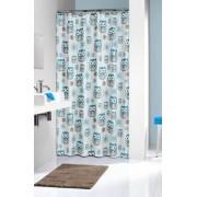 Sealskin Owl Blue zasłona prysznicowa tekstylna 180x200cm 210871324