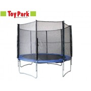 Toy Park Eco Enclosure Trampoline 12 FT With Ladder