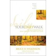 Your Daily Walk: 365 Daily Devotions to Read Through the Bible in a Year, Paperback/Walk Thru the Bible