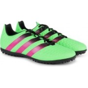 ADIDAS ACE 16.3 TF Men Football Shoes For Men(Green, Pink)
